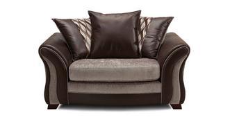 Albion Pillow Back Cuddler Sofa