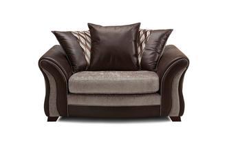 Pillow Back Cuddler Sofa Chance