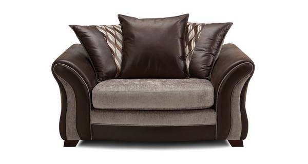 Albion Pillow Back Cuddler Sofa