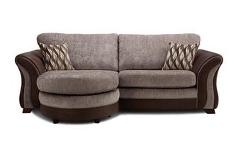 Albion 4 Seater Formal Back Lounger Sofa Chance