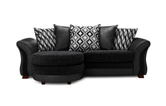 Albion 4 Seater Pillow Back Lounger Sofa Chance
