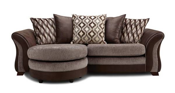 Albion 4 Seater Pillow Back Lounger Sofa