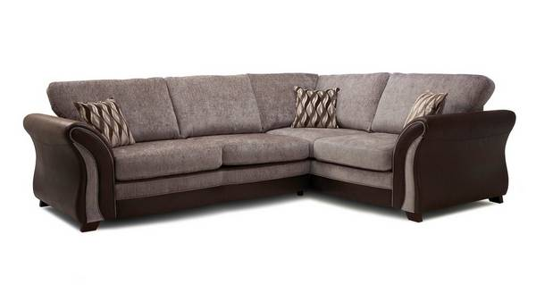 Albion Left Hand Facing Formal Back 3 Seater Corner Sofa