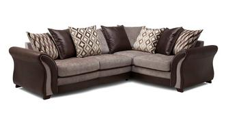 Albion Left Hand Facing Pillow Back 3 Seater Corner Sofa
