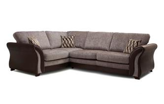 Right Hand Facing Formal Back 3 Seater Corner Sofa Chance