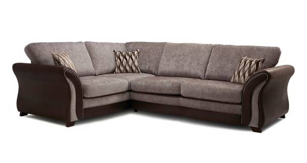 Albion Right Hand Facing Formal Back 3 Seater Corner Sofa
