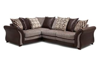 Right Hand Facing Pillow Back 3 Seater Corner Sofa Chance