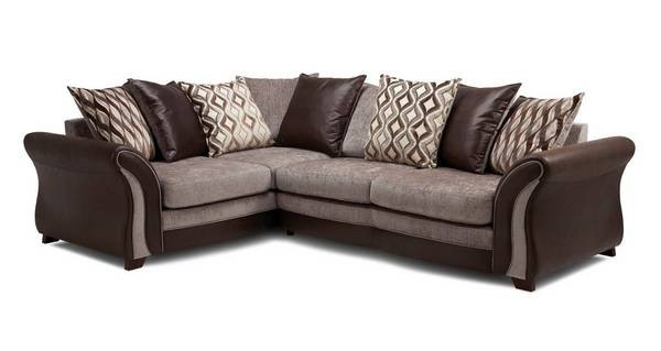 Albion Right Hand Facing Pillow Back 3 Seater Corner Sofa