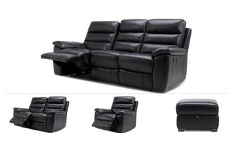 3 & 2 Seater Recliner, Recliner Chair & Stool
