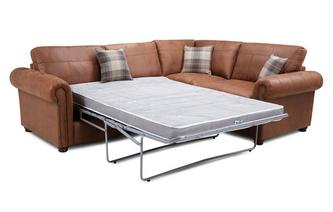 Formal Back Left Hand Facing 3 Seater Deluxe Corner Sofabed
