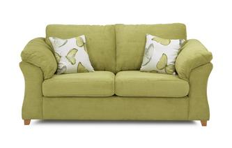 2 Seater Formal Back Sofa Bed Capulet