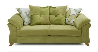 Alegra 3 Seater Pillow Back Sofa