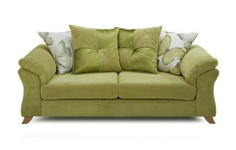 3 Seater Pillow Back Sofa Capulet