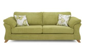 4 Seater Formal Back Sofa Capulet
