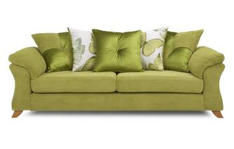 4 Seater Pillow Back Sofa Capulet