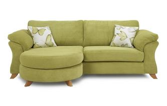 4 Seater Formal Back Lounger Sofa Capulet