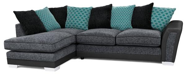 Alessio corner group sofa, right hand facing