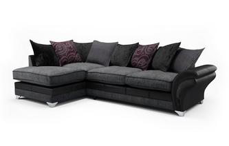 Alexi Right Hand Facing Pillow Back Open End Corner Sofa Alexi