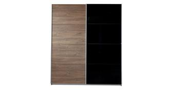Alexis Small 2 Door Sliding Wardrobe