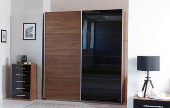 Alexis Small 2 Door Sliding Wardrobe Alexis