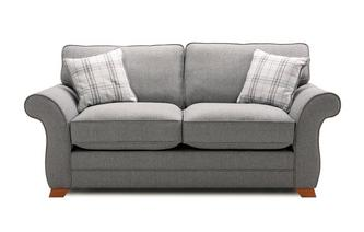2 Seater Formal Back Deluxe Sofa Bed Arran Express
