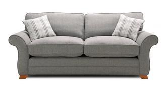 Alfie Express 3 Seater Formal Back Sofa