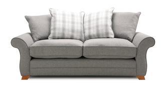 Alfie Express 3 Seater Pillow Back Sofa