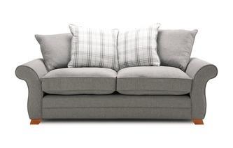 3 Seater Pillow Back Sofa Arran Express