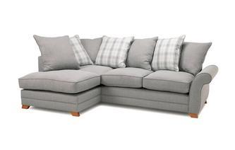Right Hand Facing Arm Pillow Back Corner Sofa