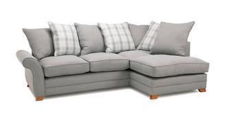 Alfie Express Left Hand Facing Pillow Back Corner Sofa Bed