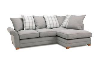 Left Hand Facing Pillow Back Corner Sofa Bed Arran Express
