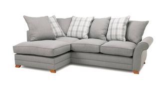 Alfie Express Right Hand Facing Pillow Back Corner Sofa Bed