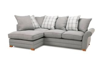 Right Hand Facing Pillow Back Corner Sofa Bed Arran Express