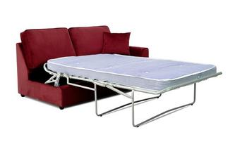 Velvet Right Hand Facing 1 Arm 2 Seat Deluxe Bed Unit
