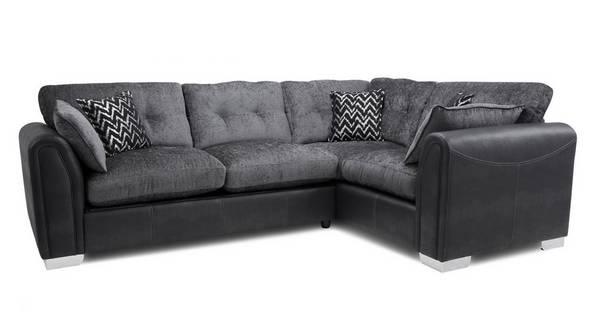 Alini Formal Back Left Hand Facing 3 Seater Corner Sofa Carrara Dfs