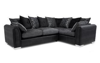 Pillow Back Left Hand Facing Supreme Sofabed Corner Sofa