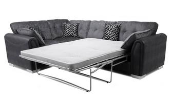 Formal Back Right Hand Facing Deluxe Sofabed Corner Sofa