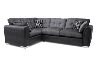 Formal Back Right Hand Facing Supreme Sofabed Corner Sofa
