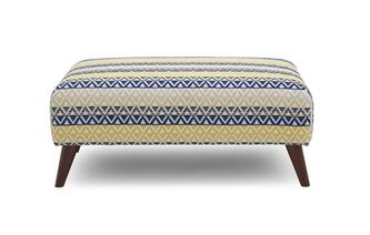 Banquette Footstool Alley Scatter