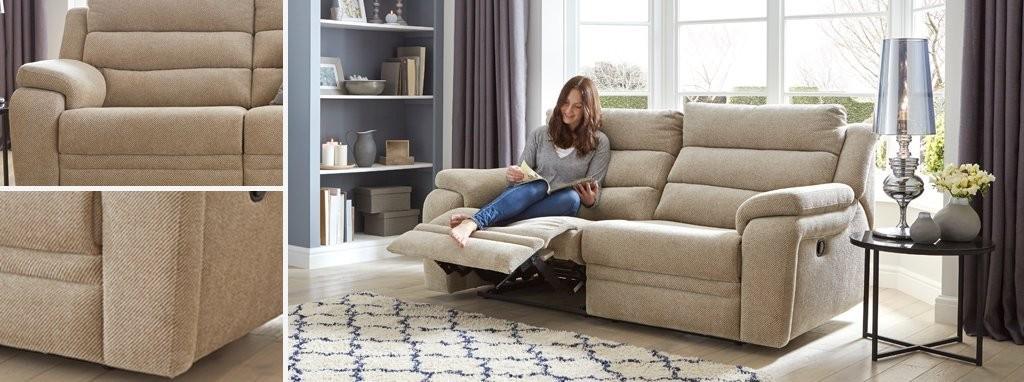 Wondrous Allons Clearance 3 2 Seater Sofa Recliner Chair Footstool Uwap Interior Chair Design Uwaporg