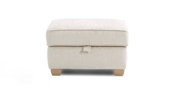 Allure Plain Storage Footstool