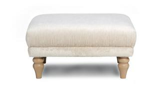 Allure Plain Small Bench Footstool
