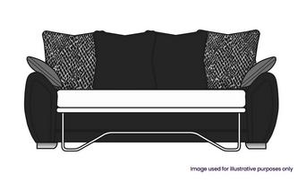 Pillow Back 3 Seater Supeme Sofa Bed