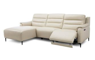 Left Hand Facing Power Chaise Sofa