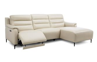 Right Hand Facing Power Plus Chaise Sofa