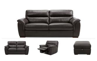 3 Seater, 2 Seater, Power Recliner & Footstool