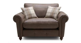 Alton Formal Back Cuddler Sofa