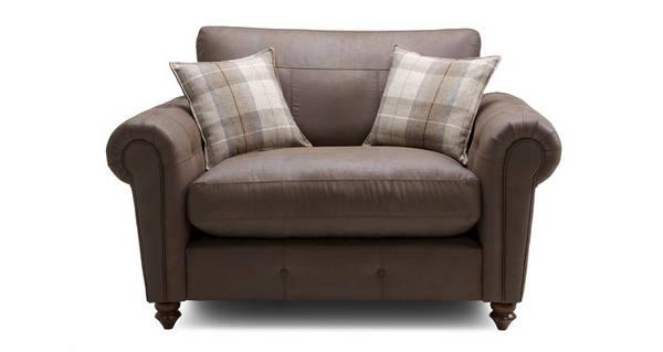Alton Formal Back Cuddler Sofa