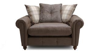 Alton Pillow Back Cuddler Sofa