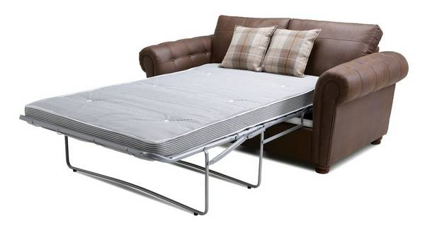 Alton Formal Back 2 Seater Deluxe Sofa Bed